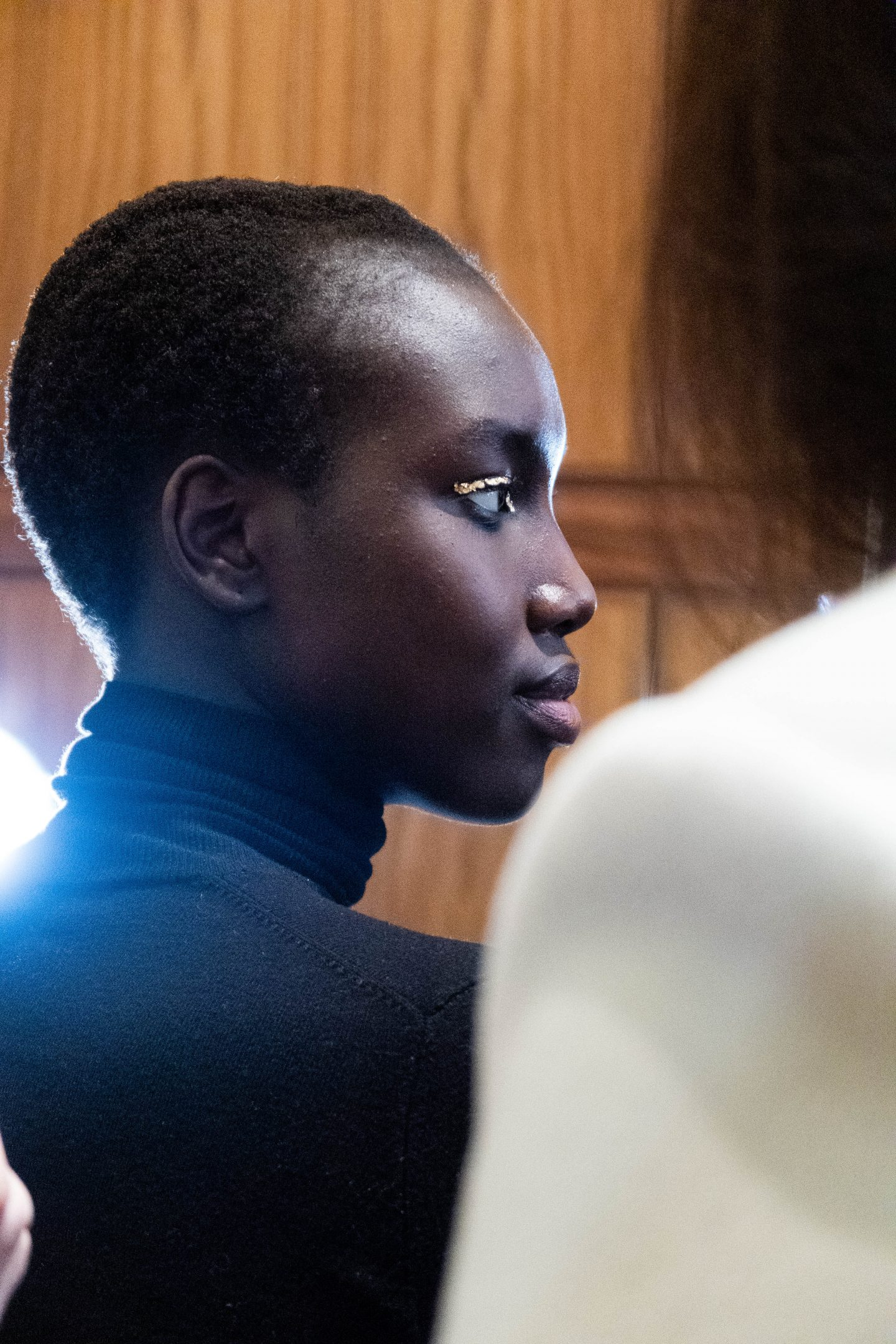 Backstage Nars Makeup Adeam show FW20 NYFW